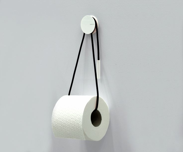 DIABOLO TOILETRULLEHOLDER - SORT by Vandiss