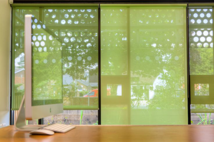 A green education! #Shading #School #Architecture #Blinds #Classroom