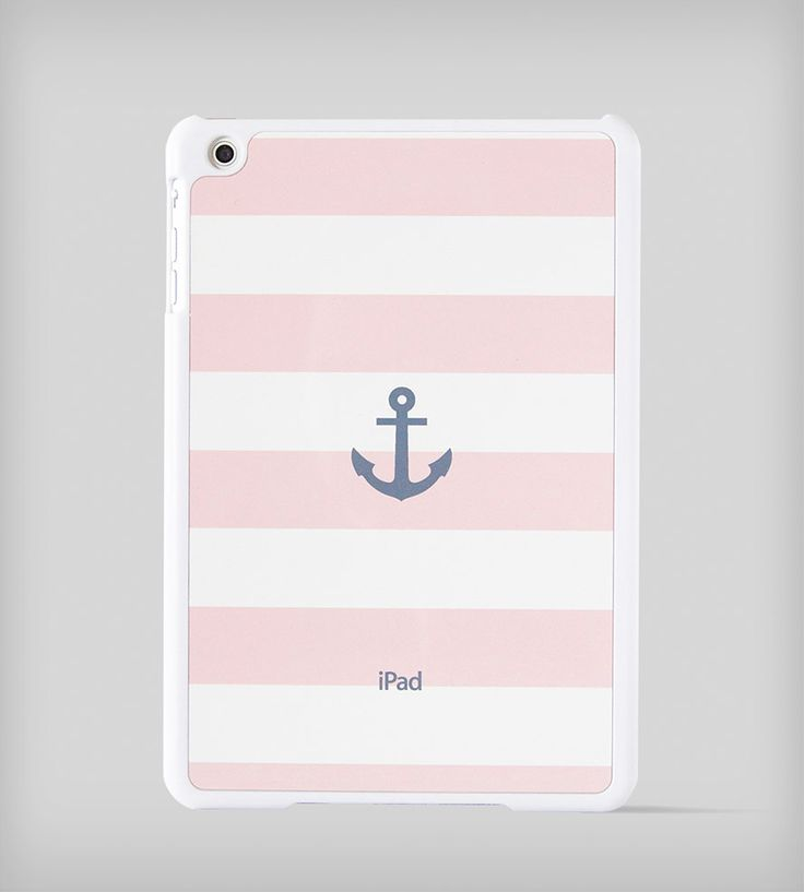 Nautical Stripe iPad Mini Case - Pink | Gear & Gadgets iPad | BlissfulCASE | Scoutmob Shoppe | Product Detail