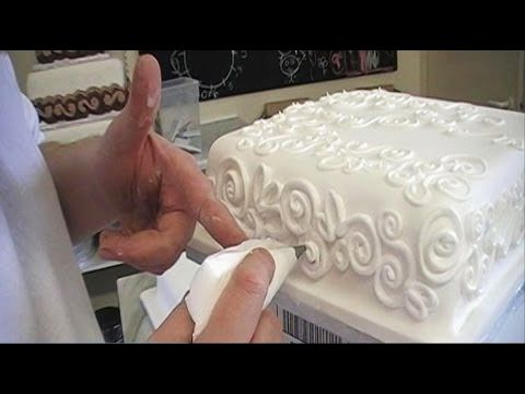 Detailed Cake Decorating