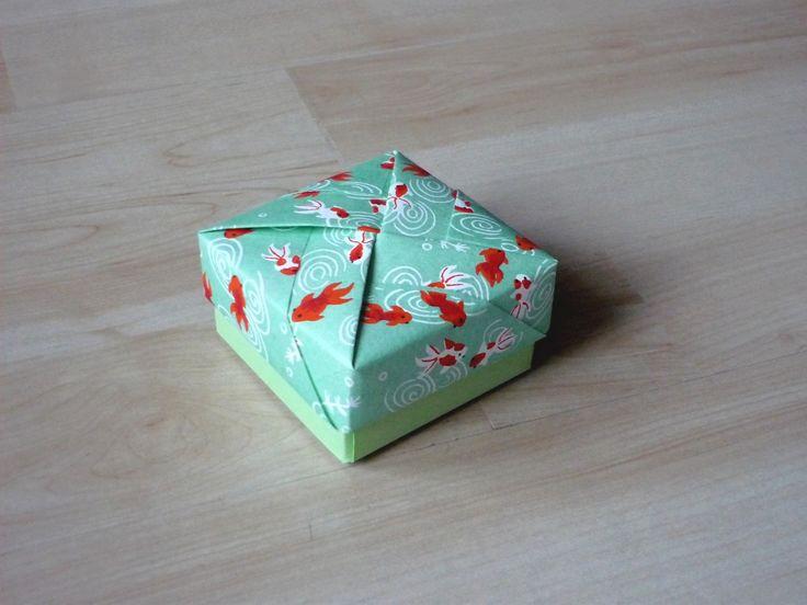 Ballotin de drag es mariage en papier origami petit for Petit poisson rouge