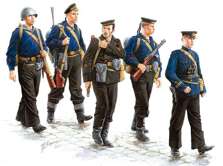 Soviet Naval Infantry at Sevastopol 1941