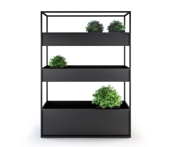 Pflanzgefässe | Bepflanzung | Room Divider Planters | Röshults. Check it out on Architonic