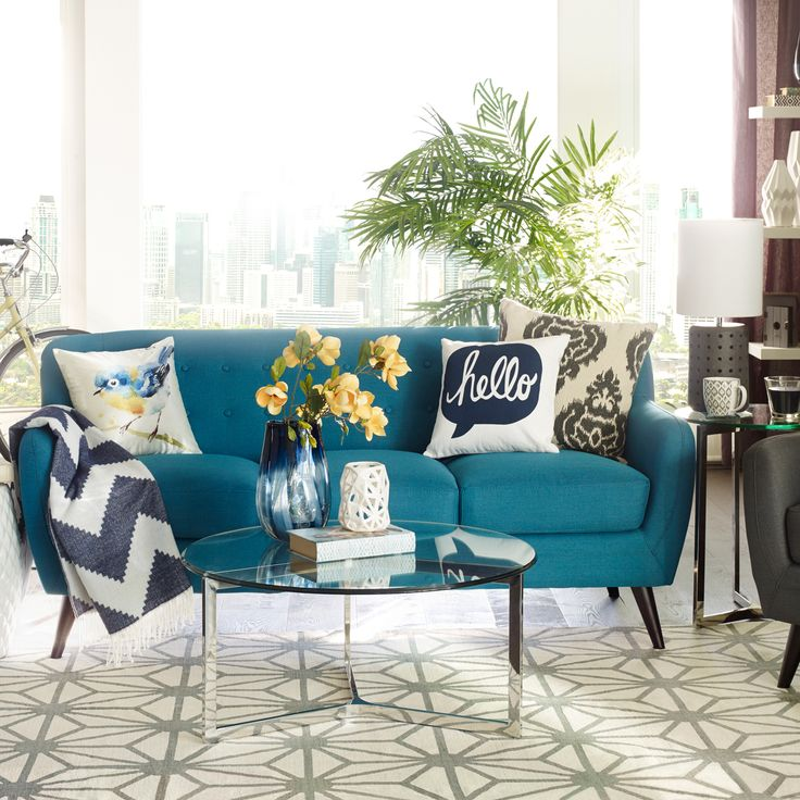 The Addison Sofa. So Cute And So Fresh For Spring.