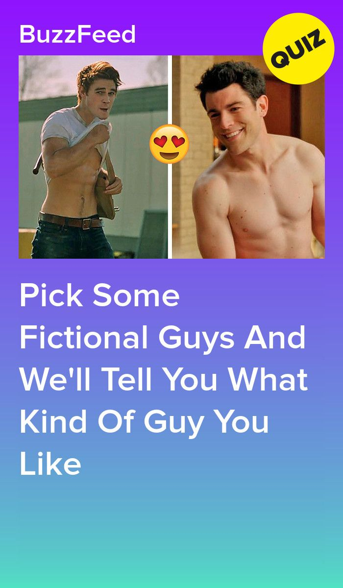 What Is Your Type Based On Your Fictional Guy Preferences?   Quizzes