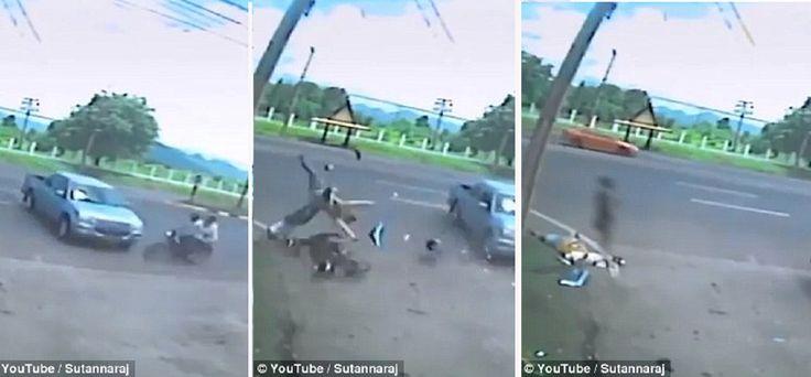 Rakaman video roh keluar dari mayat mangsa kemalangan jadi viral   Rakaman video yang kononnya menunjukkan roh keluar dari mayat mangsawanita pembonceng motosikal yang mati dalam kemalangan menjadi viral di media sosial terutama di Thailand.  Rakaman yang dikatakan dari CCTV di luar Kem Phibun Songkram di Lopburi Thailand itu dimuat naik Sutannaraj Suwannatada pada 17 September dan kini sudah ditonton 380000 kali.  Kemalangan itu berlaku apabila motosikal dibonceng wanita dikenali sebagai…