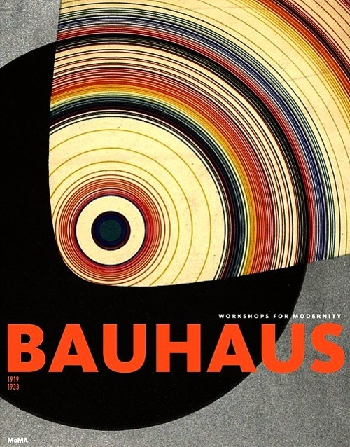 Poster for the Bauhaus school closed by Hitler in the early 1930's. It was too modern.