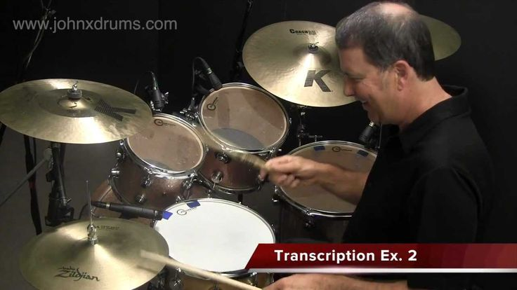 Paradiddle-diddle Hi-hat Fill - FUNK DRUM FILL LESSON with John X