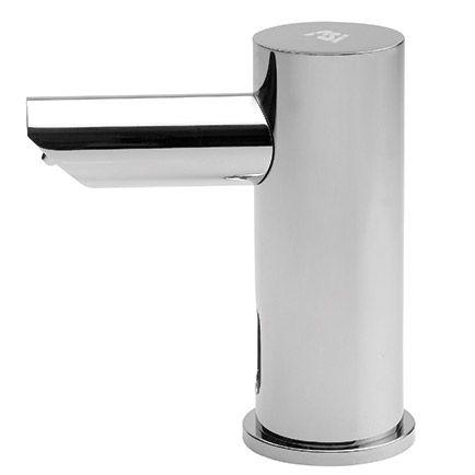 ASI 10-0391-1AC EZ-Fill - Single Soap Dispenser w/ 1 Liter Bottle, Plug In Version | ASI Commercial Soap Dispenser  | SustainableSupply.com
