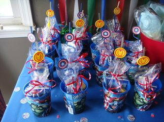 Avengers Birthday Party!