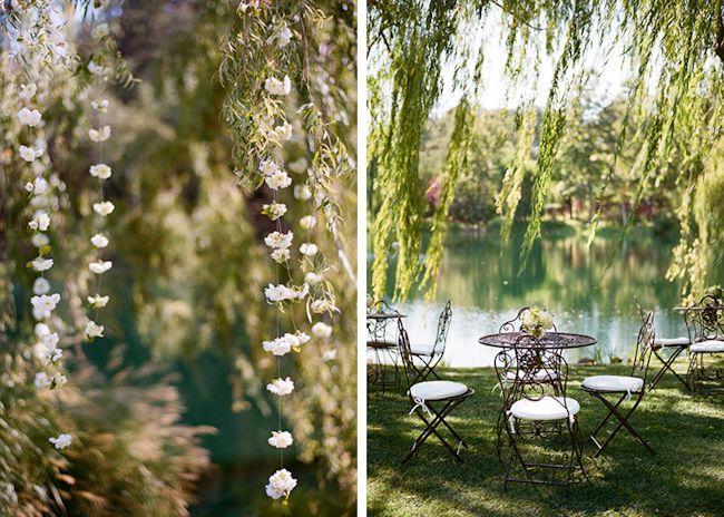 Black Swan Lake Wedding By Meg Smith