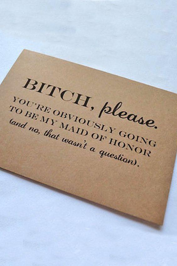 Super Fabulous Bridesmaid Proposal Ideas :heart: See more: http://www.weddingforward.com/bridesmaid-proposal-ideas/ #weddin