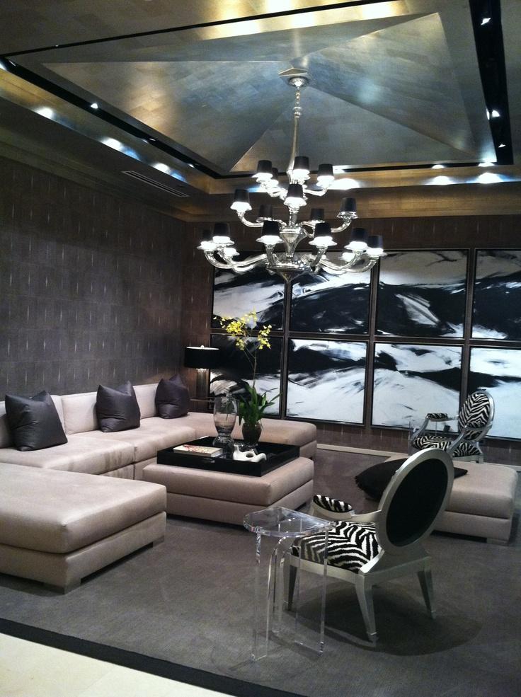Donghia Chicago Manhattan Sectional Grand Soleil Chair