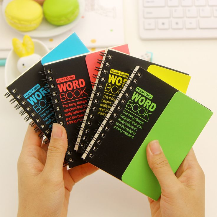 Korean Learning Learning Foreign Languages Remember Words Notebook School Supplies Stationary For Student  Price: 6.39 & FREE Shipping  Visit: %HOMEURL%  #shopping
