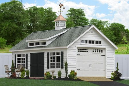 Sheds Unlimited Inc: Prefab Garage Packages from Sheds Unlimited in Lancaster, PA