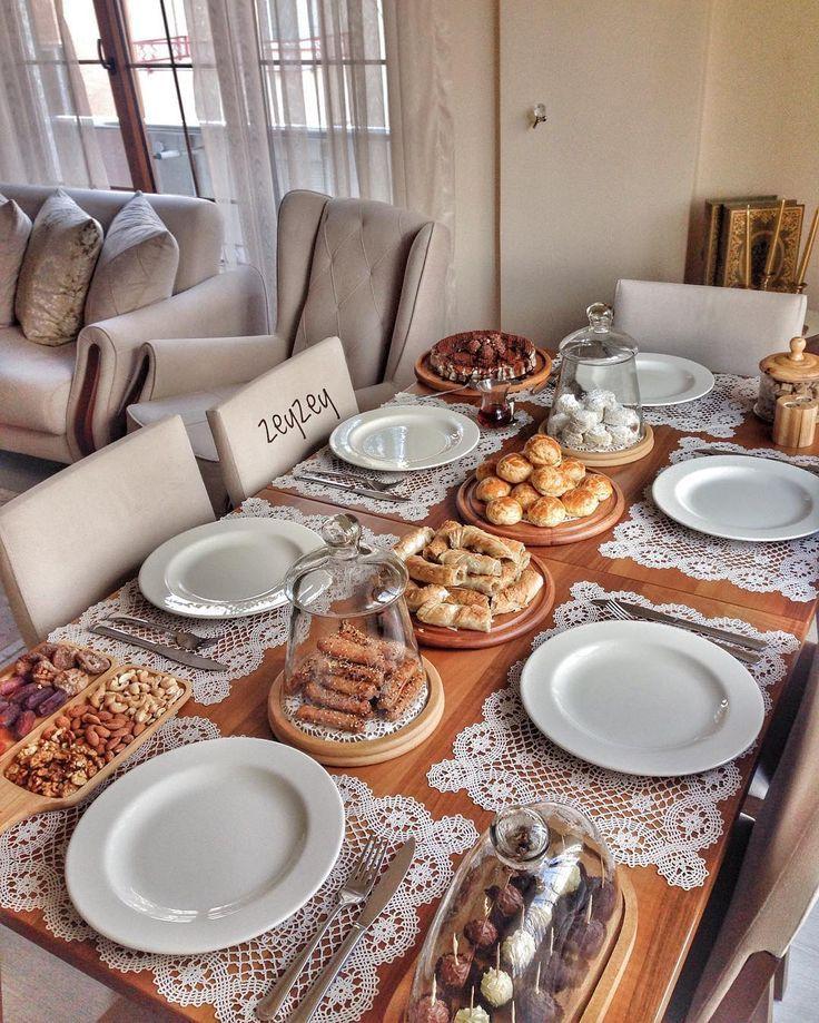 Orhan Zeynep 39 In This View Instagram Photo Ramadan Blog Arrumacao De Mesa Mesa Posta Para Jantar Mesa De Cafe