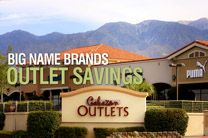 Palm Springs Outlet Mall Shopping - Cabazon Outlets - Palm Springs Shopping