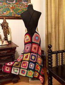 Encomenda pronta a ser enviada à uma linda cliente do Rio de Janeiro.  Usei fios coloridos Anne e algodão egípcio preto da Brancal marca ...