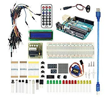 LANDZO Arduino Basic Kit with Arduino UNO R3 for Arduino Starter