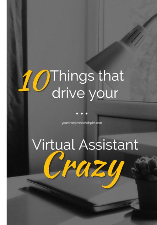 Ten common mistakes when hiring a VA