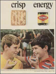 Happy little Vegemites. I grew up in Sydney Australia in the 1960's and 70's and this was our after school snack most days! Makes me miss Australia so much!