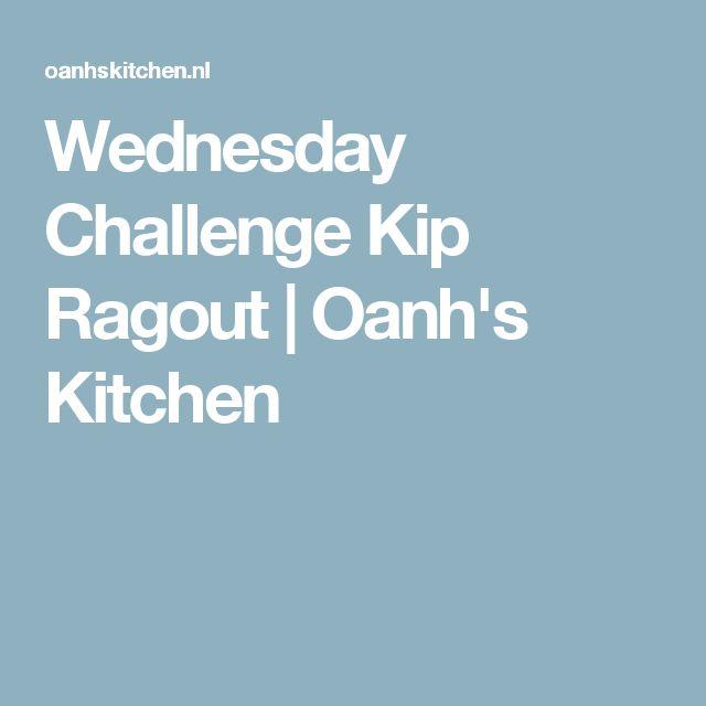 Wednesday Challenge Kip Ragout   Oanh's Kitchen