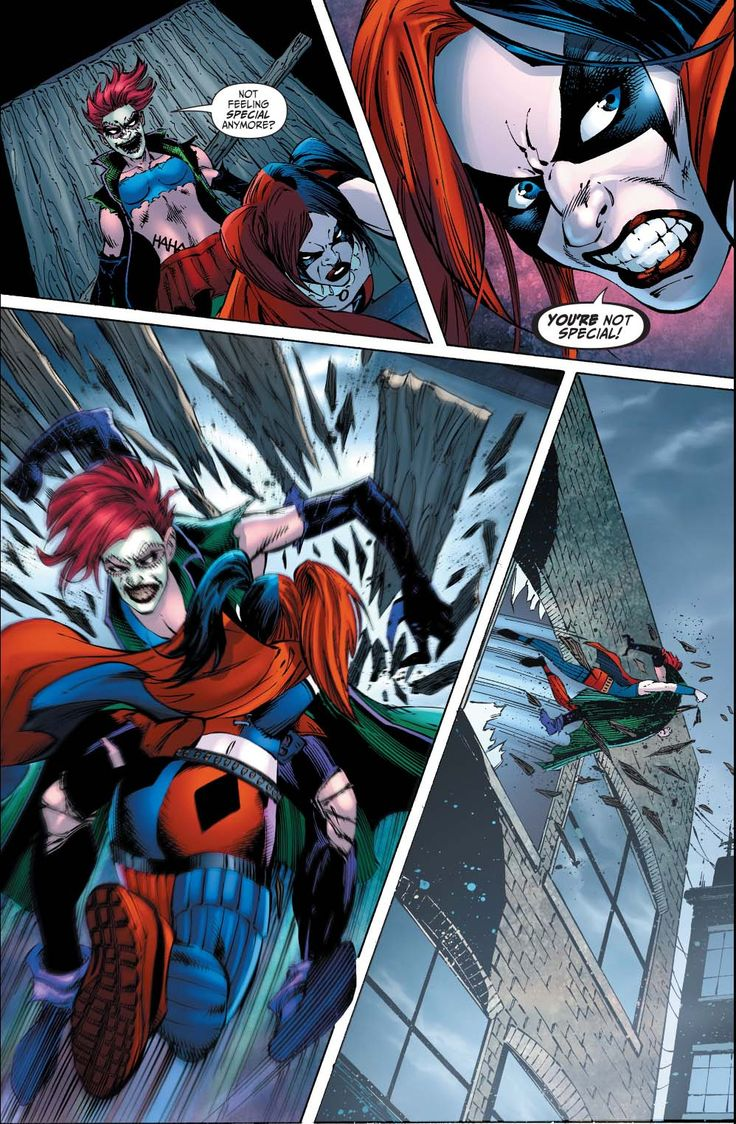Harley Quinn VS The Joker's Daughter 2