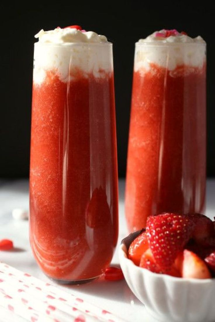 Coconut Strawberry Daiquiris