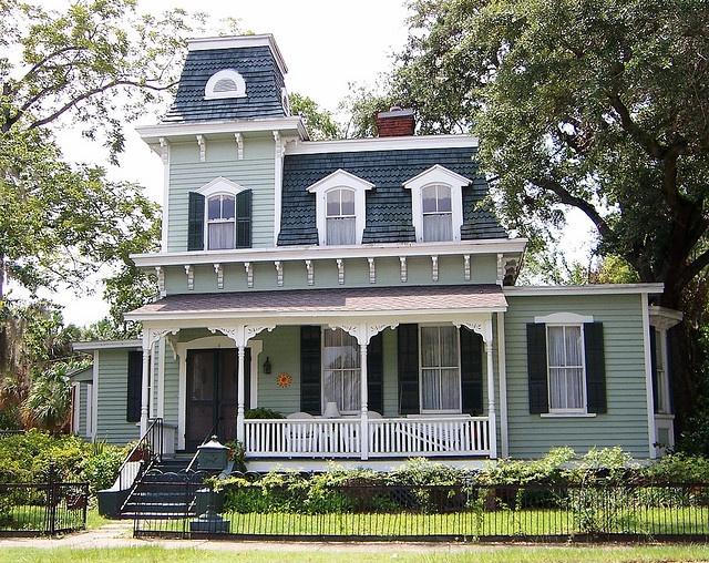 11 best second empire porches images on pinterest empire for Second empire homes for sale