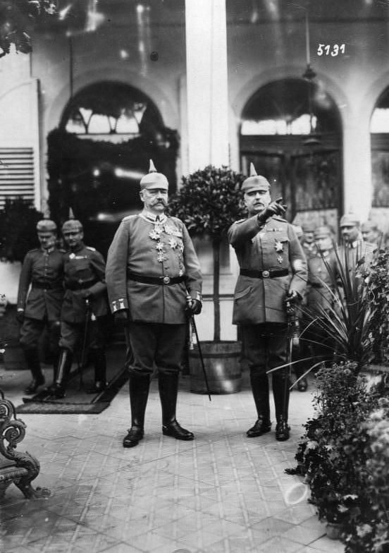 This Day In History: Hindenburg Announces That The Warsaw Campain Was A Success (1914)
