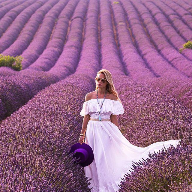 Epic!☺️ les routes de la Lavande...  the roads of Lavender... #provence #biancainfrance #somebodystopbianca photo by @onthere