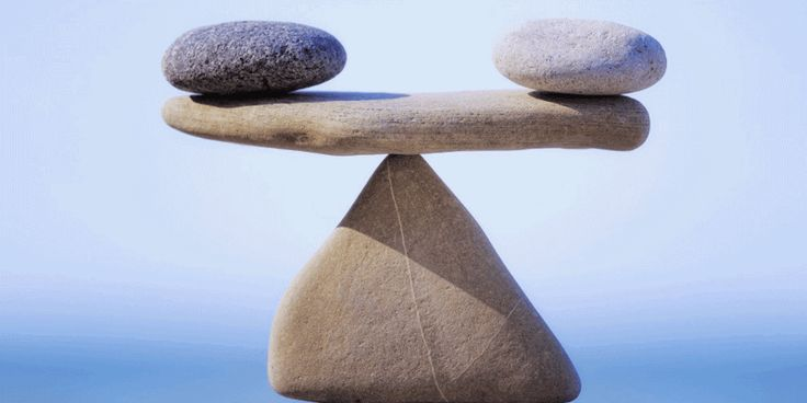 Balance – How to manage the seesaw of life | Read the full article on: https://medium.com/@ZacScy/balance-66165b0d783e#.l33ro5gw2 | Have a kick-ass creative day!