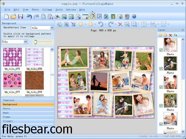Download Picture Collage Maker Free full version from FilesBear. By far the best website to download games for your windows pc. Link: http://filesbear.com/windows/games/tools-editors/picture-collage-maker-free/