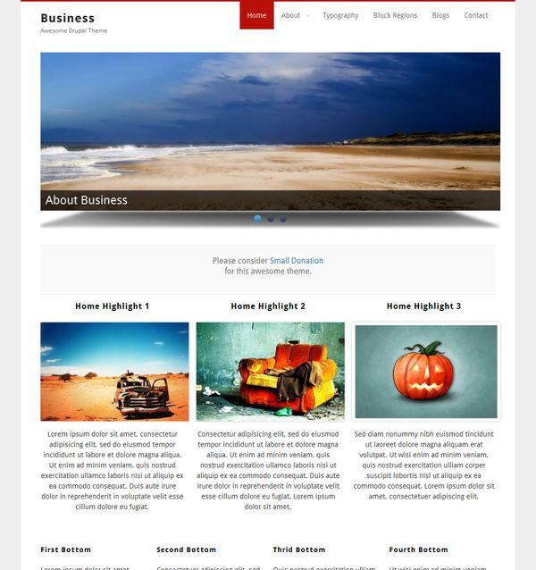15 best Drupal template images on Pinterest Drupal, Template and Free