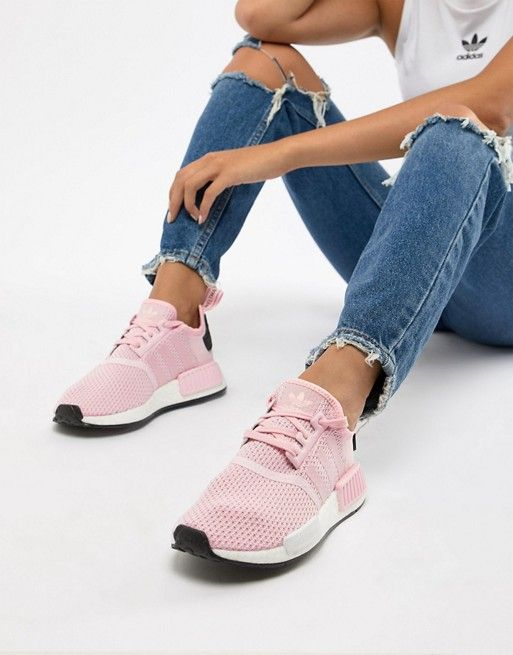 promo code 1f71f f5139 adidas Originals Nmd R1 Sneakers In Pink | Wantable, Stitch ...