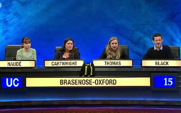 University Challenge: The real reasons why women don't enter - Telegraph