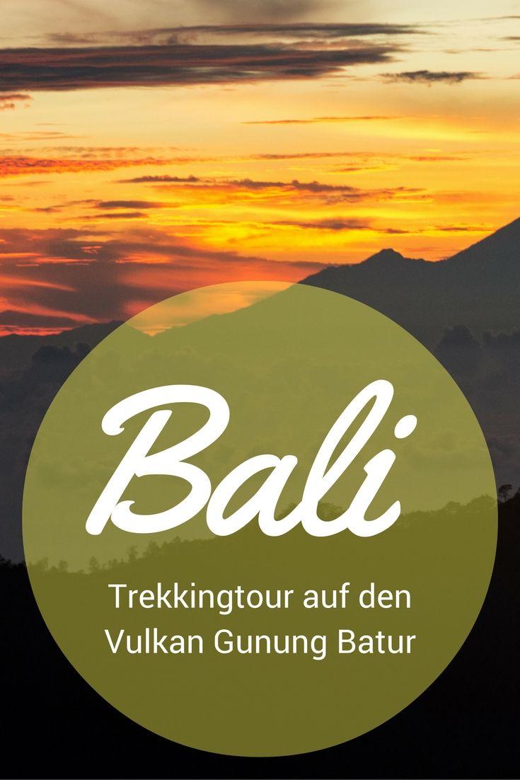 Trekkingtour auf den aktiven Vulkan Gunung Batur auf Bali, Indonesien