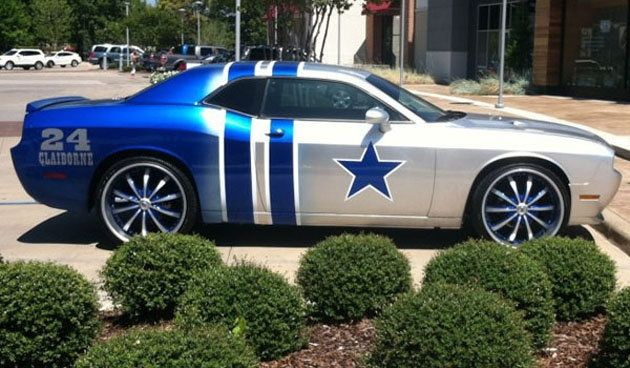 Morris Claiborne's tricked-out Dallas Cowboys themed Dodge Challenger meant as a present to his parents | Shutdown Corner - Yahoo! Sports