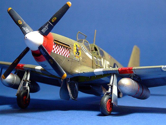 P-51B Mustang by Patrick Chung (Tamiya 1/48)