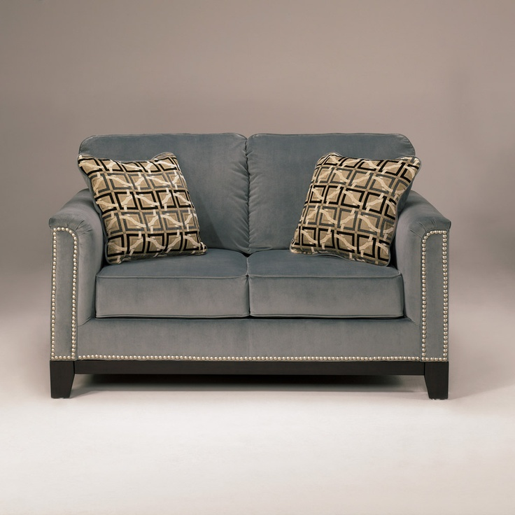 Entice Loveseat Mist At Home Furniture Store Love Seat