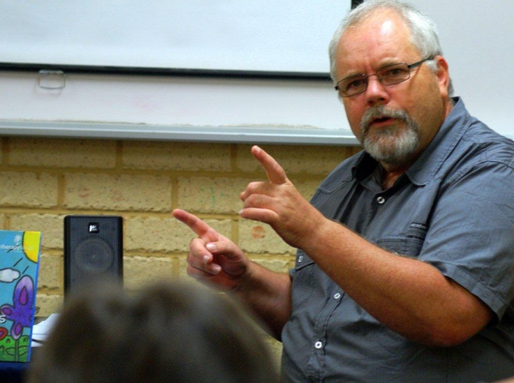 Bevan McGuiness (January 2012) talked about epic fantasy writing at our first Meet the Author session.