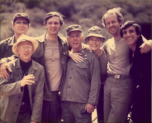 The MASH cast of later years - one of the best TV shows EVER