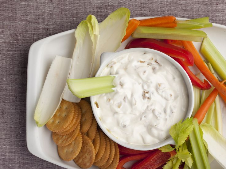 Alton Brown's Onion Dip from Scratch Recipe