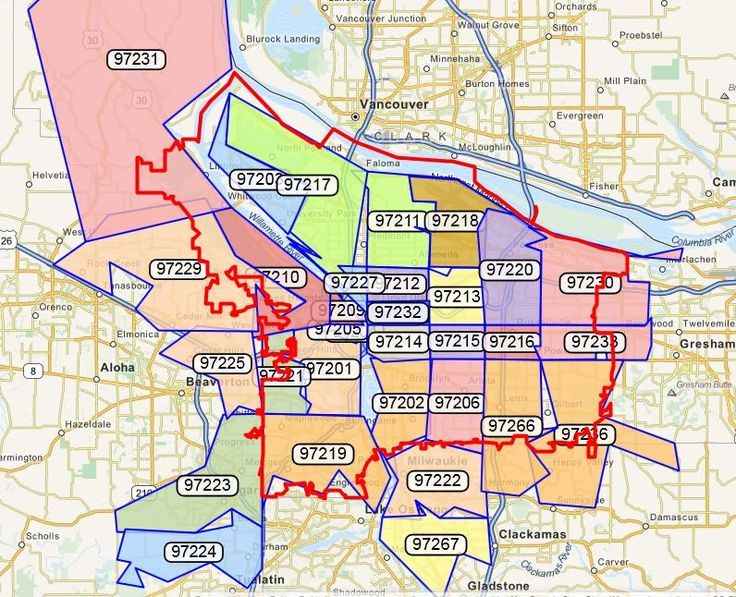 Portland Real Estate by Zip Code - might come in handy when/if we move back to OR