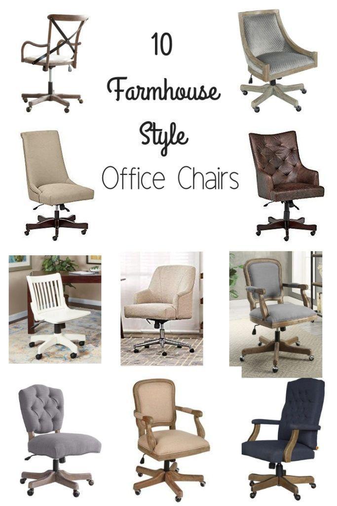 Farmhouse Style Office Chairs Bauernhausstil Burostuhle