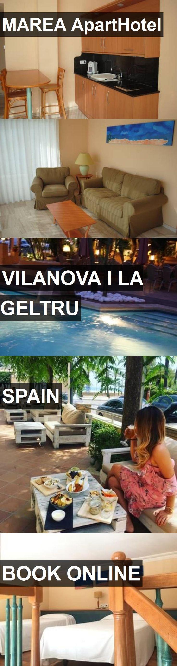 MAREA ApartHotel in Vilanova i la Geltru, Spain. For more information, photos, reviews and best prices please follow the link. #Spain #VilanovailaGeltru #travel #vacation #hotel