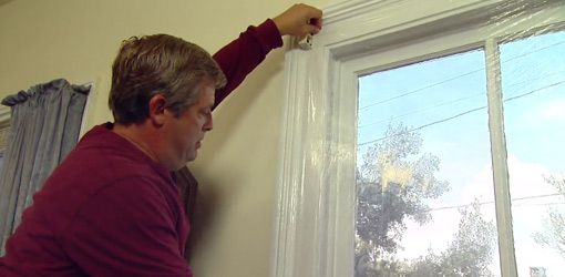 How to Install Plastic Window Insulation Kits class=