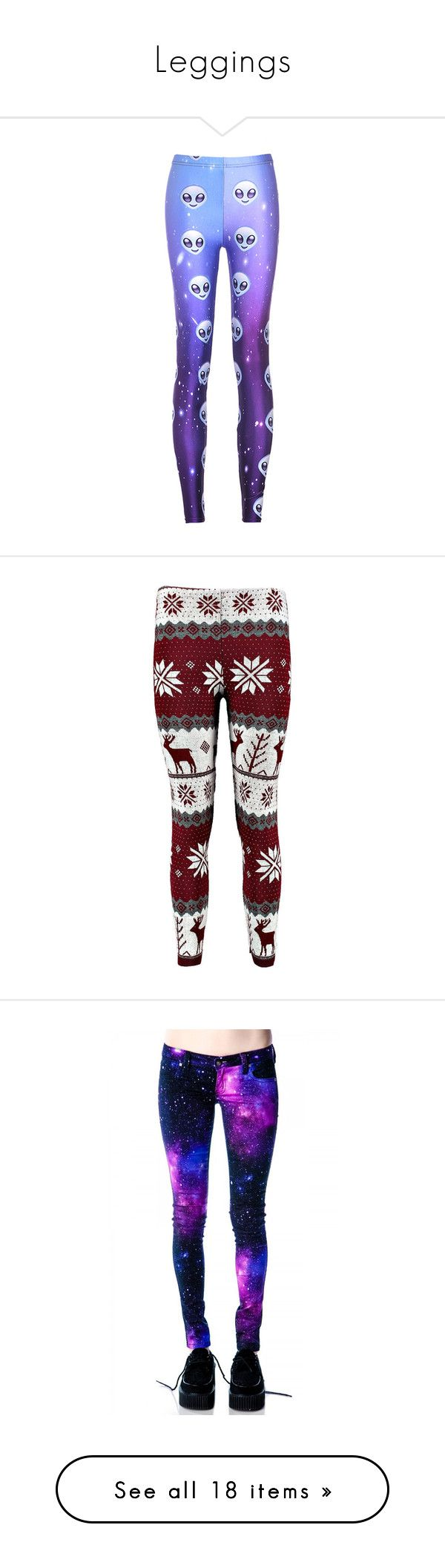 """""""Leggings"""" by rain-caniff-482 ❤ liked on Polyvore featuring pants, leggings, bottoms, purple skinny pants, stretch leggings, patterned pants, ombre pants, stretch skinny pants, jeans and red christmas leggings"""