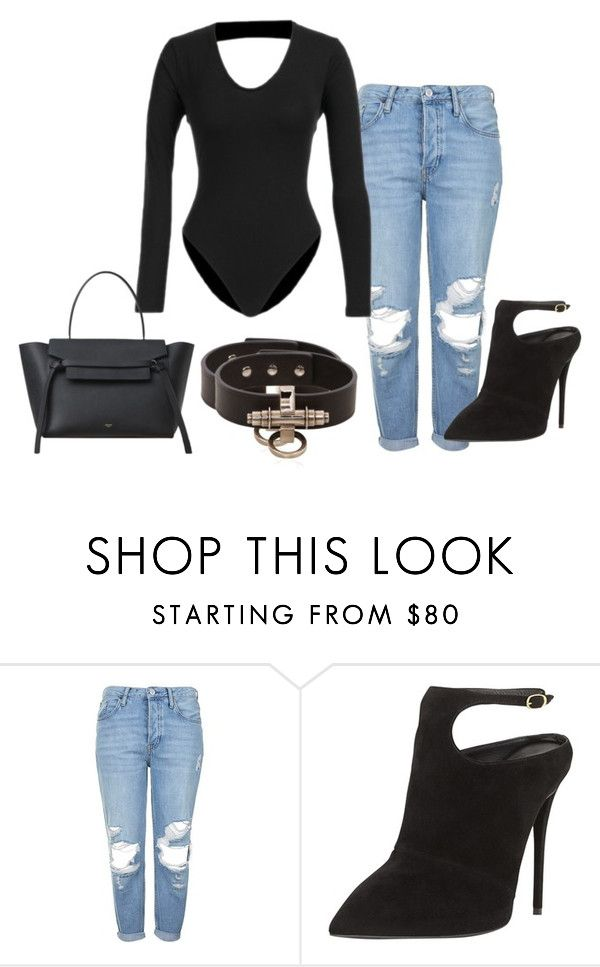 """""""MAVEN BODYSUIT"""" by iamamaven on Polyvore featuring Topshop, Giuseppe Zanotti and Givenchy"""