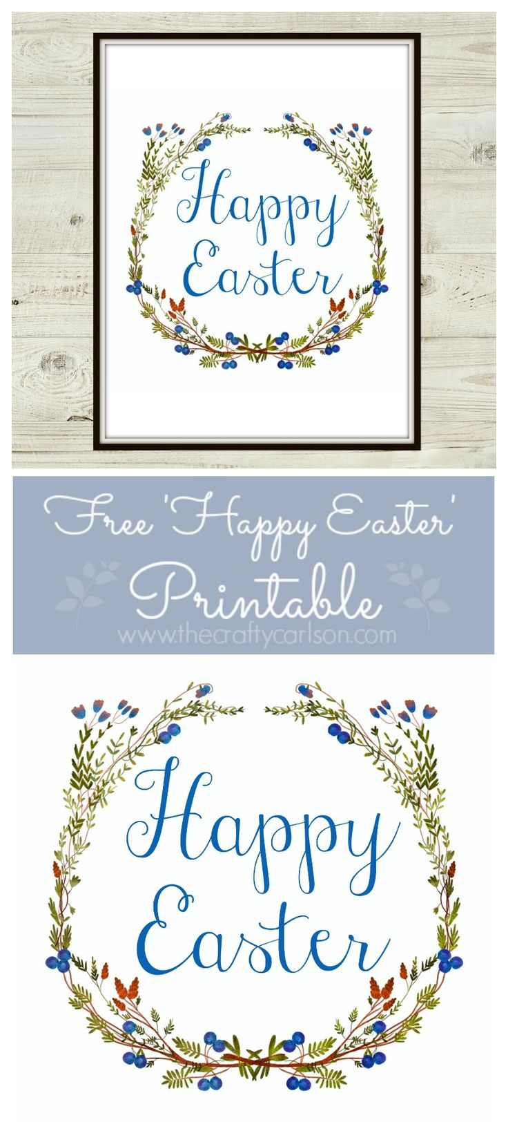 Free Happy Easter Printable
